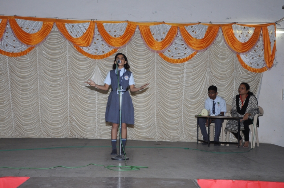 Ganesh Festival :  English Elocution Competition (Juniors).