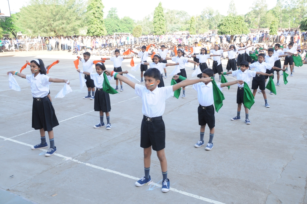 Flag Drill on the occasion of Republic Day