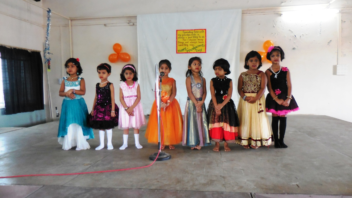 The Children of LKG celebrated the Grandparents Day with lots of love and enthusiasm.