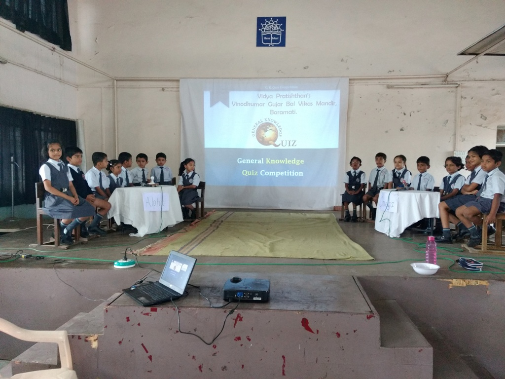 GK Quiz Competition 2018 - I & II