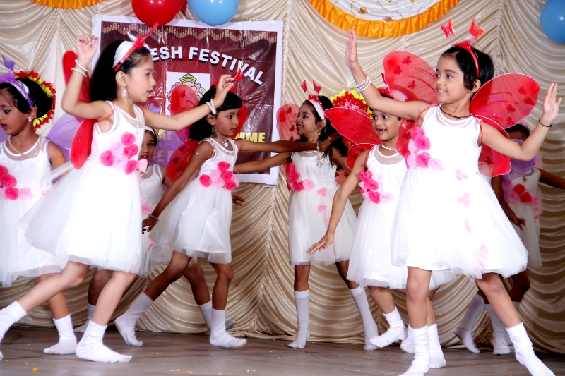 Ganesh Festival : HKG Dove…. Let's dance with wings of butterflies.